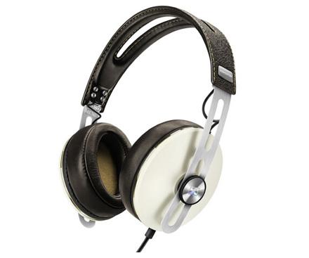 森海塞尔(Sennheiser) MOMENTUM i 大馒头2代 头戴式包耳高保真立体声耳机 苹果版 象牙白